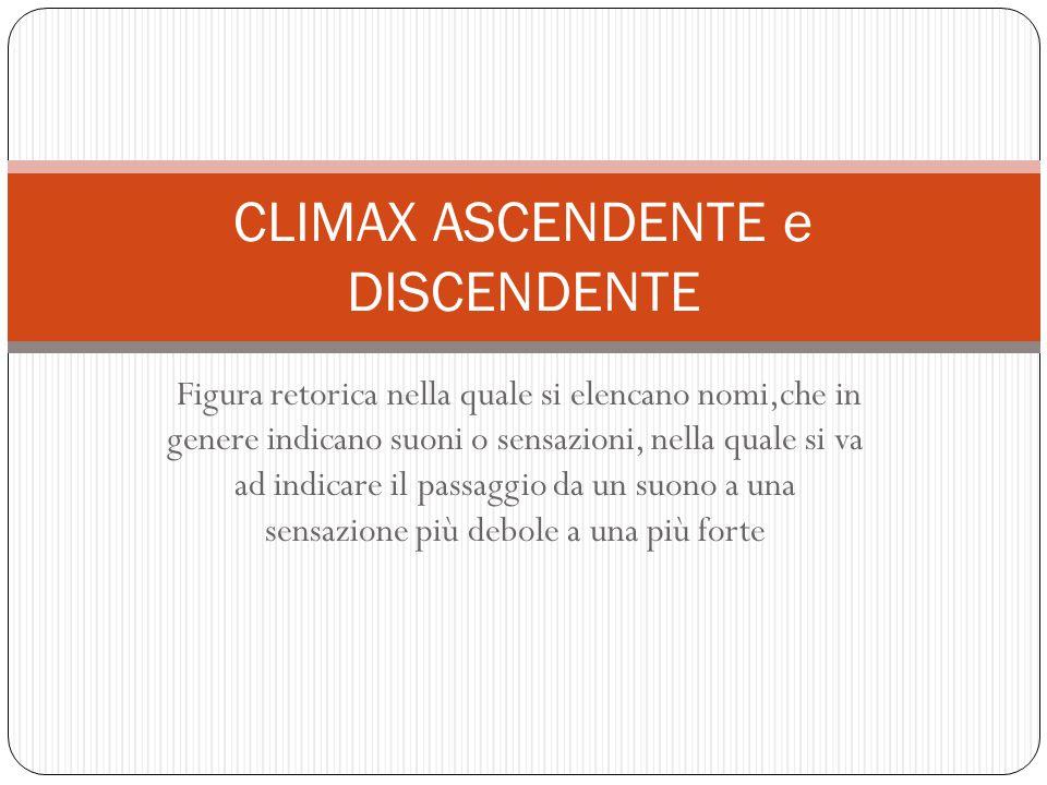 CLIMAX ASCENDENTE e DISCENDENTE