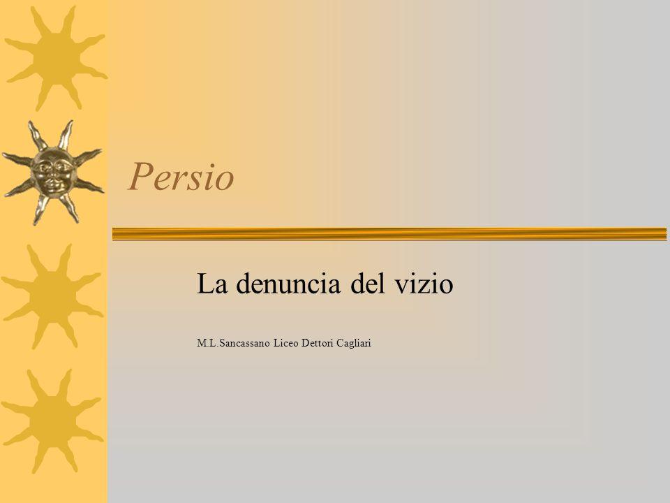 La denuncia del vizio M.L.Sancassano Liceo Dettori Cagliari