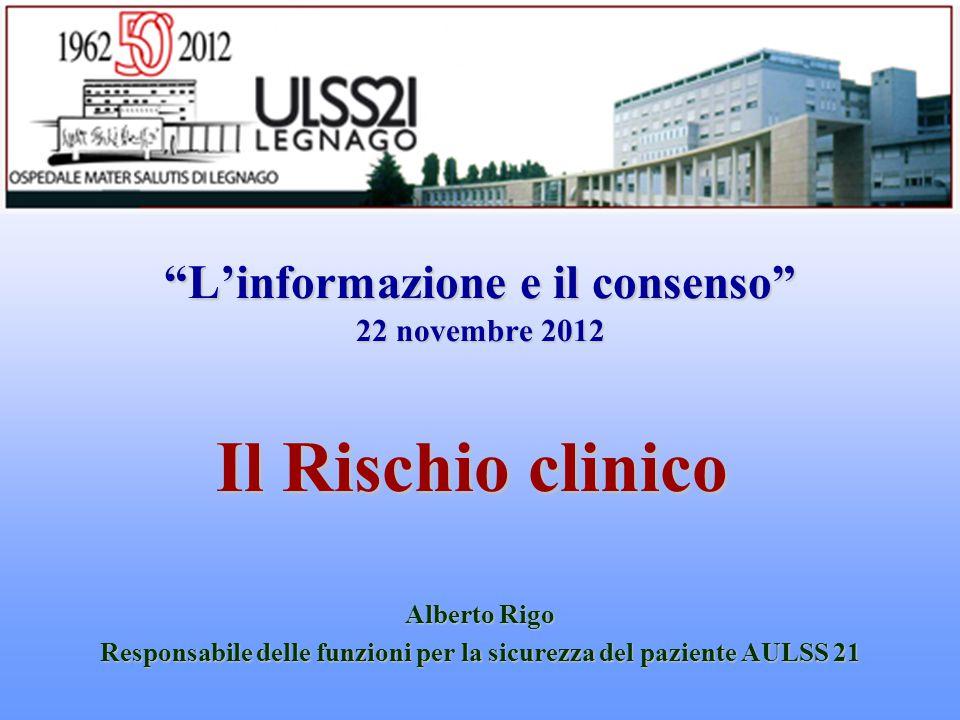 L'informazione e il consenso 22 novembre 2012