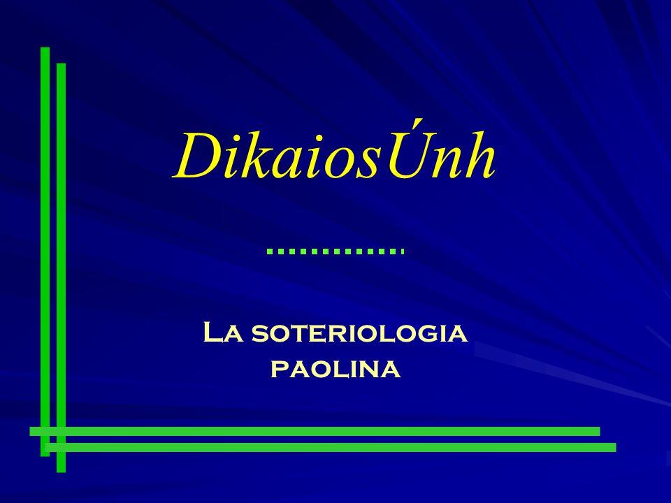 La soteriologia paolina