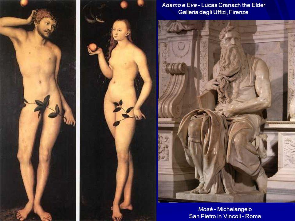 Adamo e Eva - Lucas Cranach the Elder Galleria degli Uffizi, Firenze