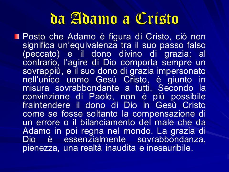 da Adamo a Cristo