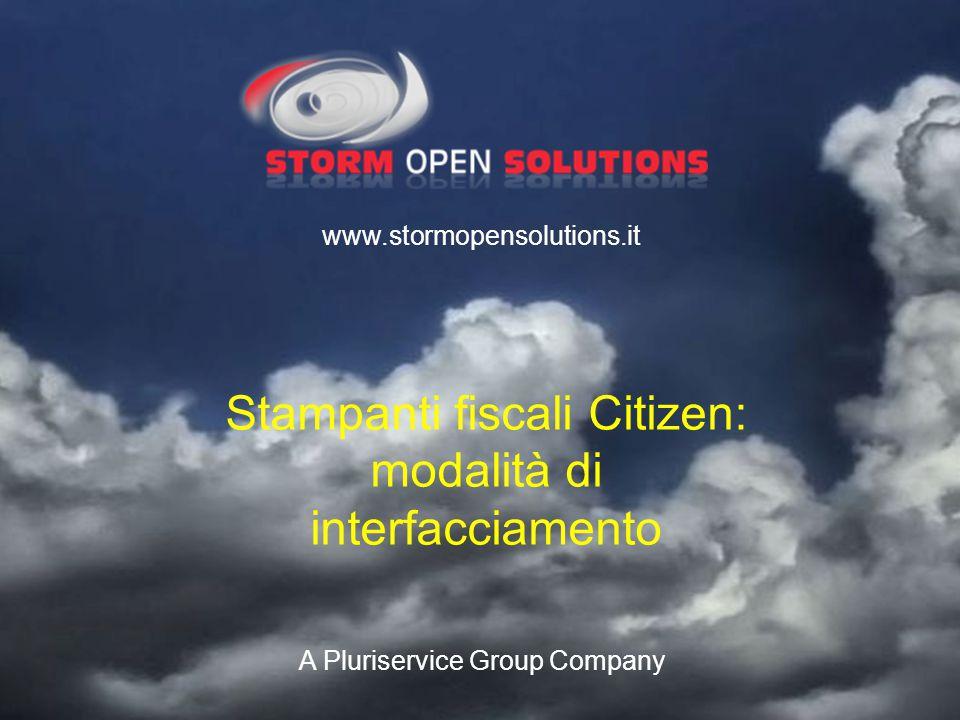 Stampanti fiscali Citizen: modalità di interfacciamento