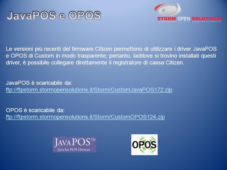 JavaPOS e OPOS