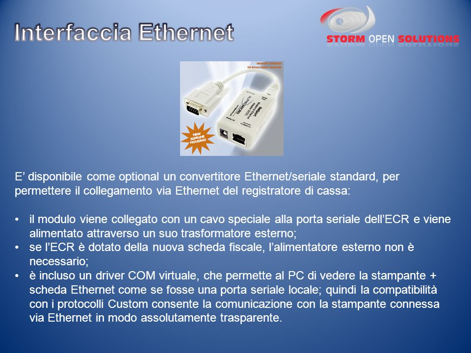 Interfaccia Ethernet