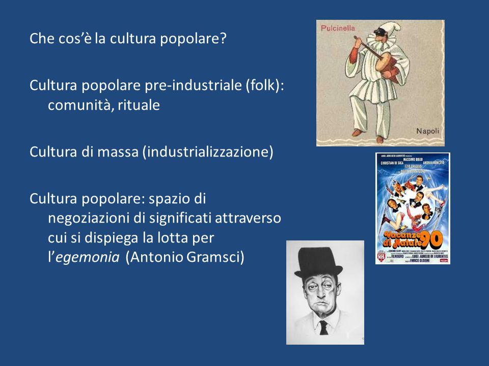 Che cos'è la cultura popolare
