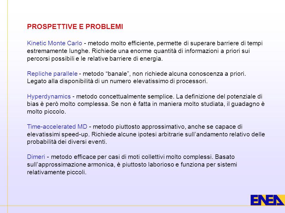 PROSPETTIVE E PROBLEMI