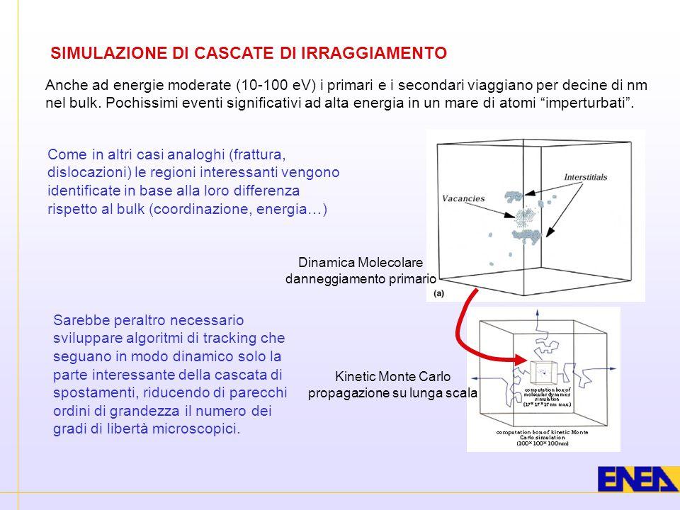SIMULAZIONE DI CASCATE DI IRRAGGIAMENTO