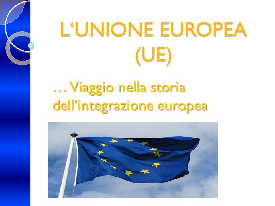 … Viaggio nella storia dell'integrazione europea