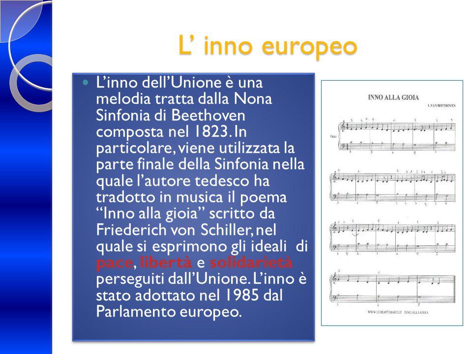 L' inno europeo
