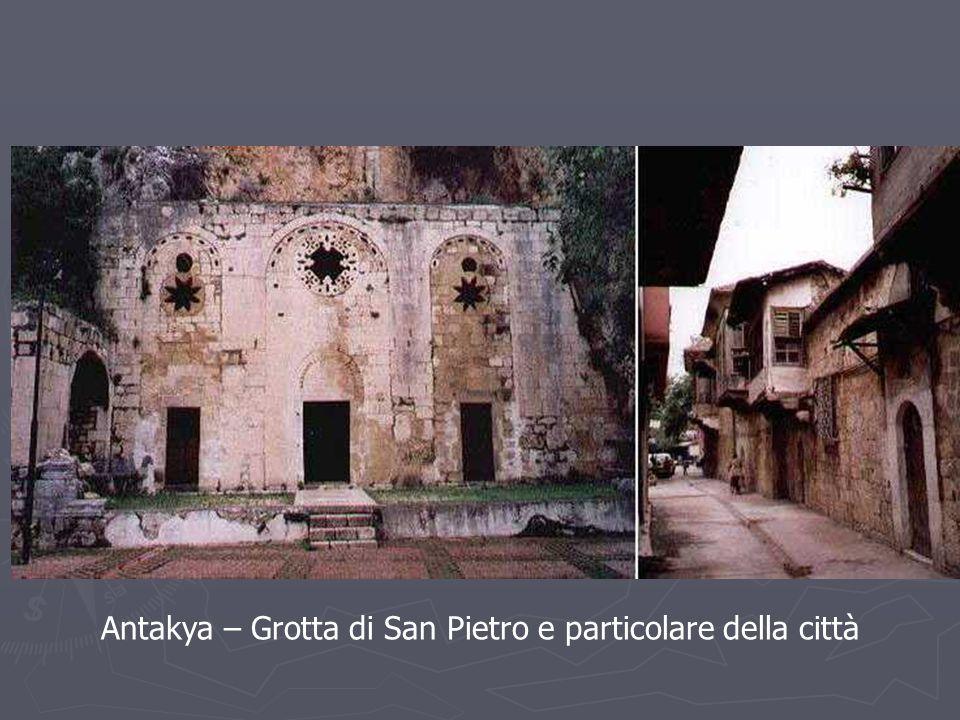 Antakya – Grotta di San Pietro e particolare della città