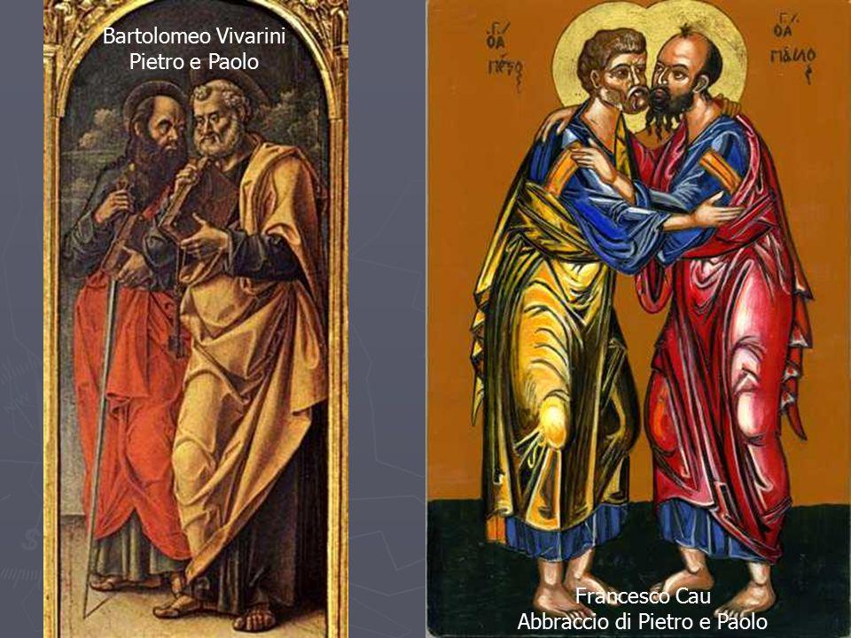 Abbraccio di Pietro e Paolo