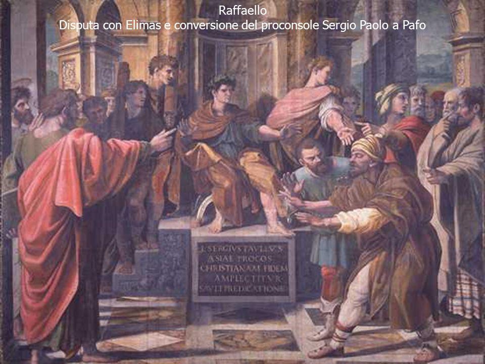 Disputa con Elimas e conversione del proconsole Sergio Paolo a Pafo