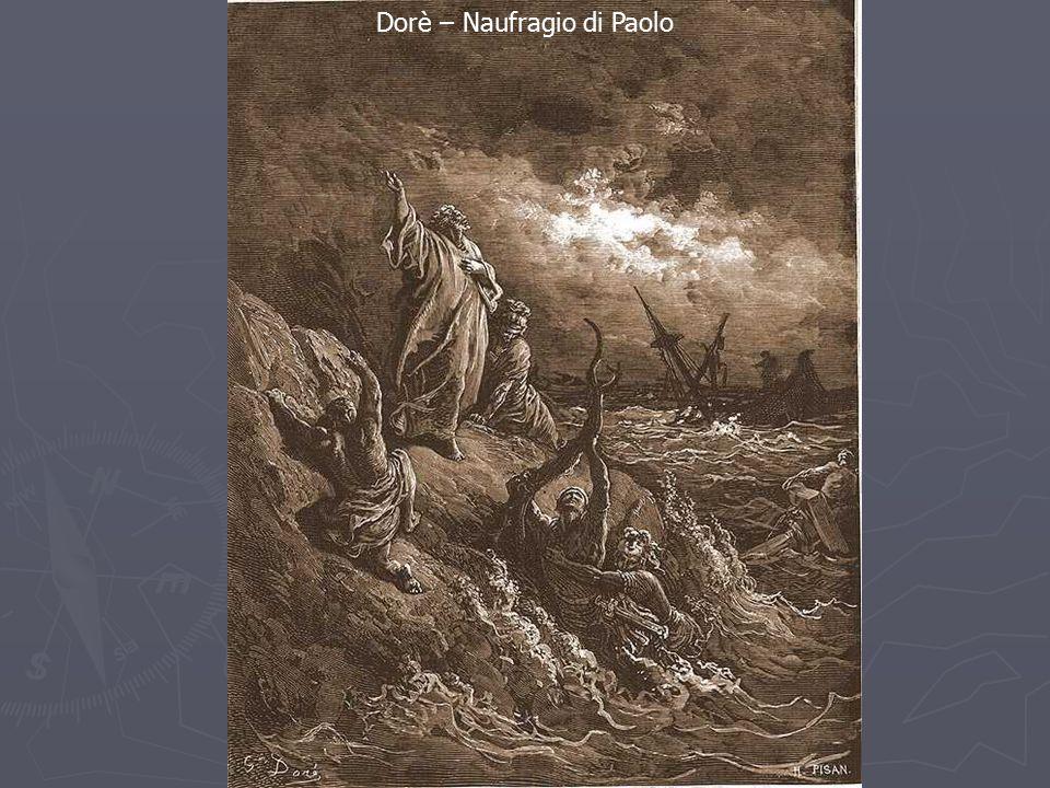Dorè – Naufragio di Paolo