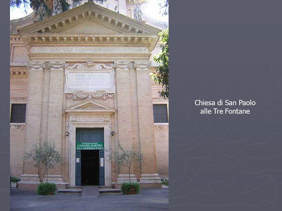 Chiesa di San Paolo alle Tre Fontane