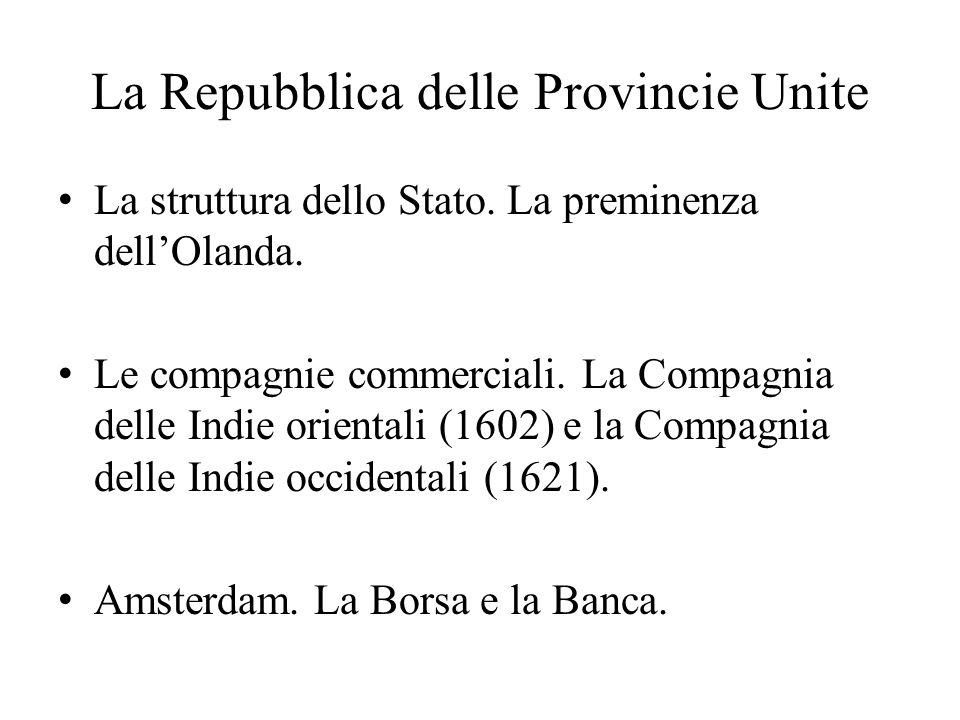 La Repubblica delle Provincie Unite