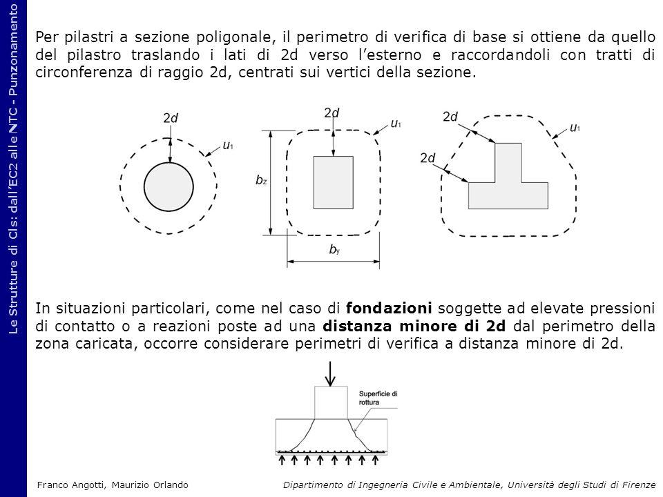 Le Strutture di Cls: dall'EC2 alle NTC - Punzonamento