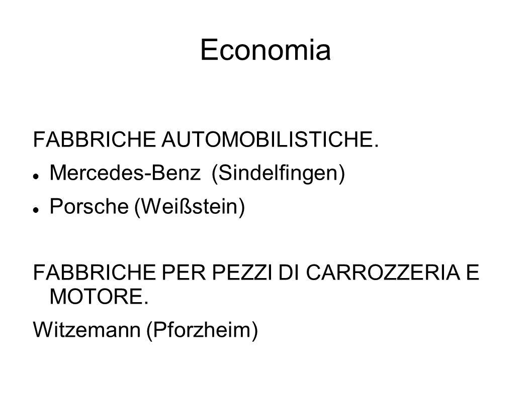 Economia FABBRICHE AUTOMOBILISTICHE. Mercedes-Benz (Sindelfingen)