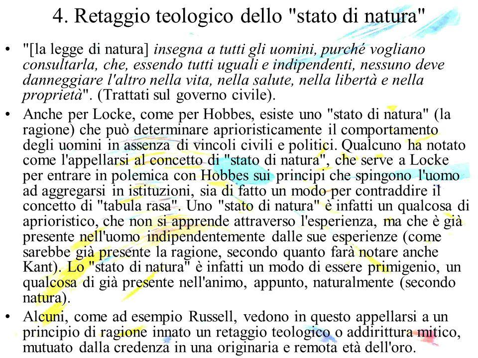4. Retaggio teologico dello stato di natura