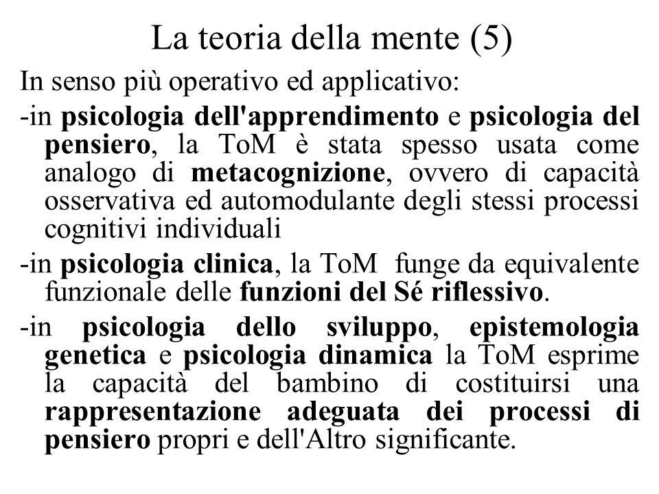 La teoria della mente (5)