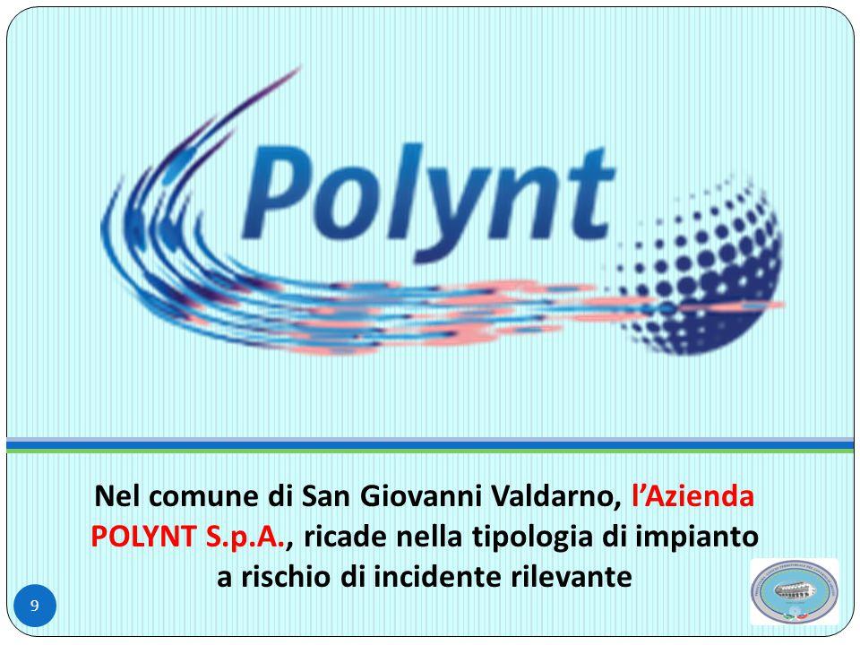 Nel comune di San Giovanni Valdarno, l'Azienda POLYNT S. p. A