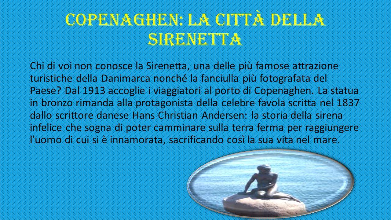COPENAGHEN: la città della Sirenetta