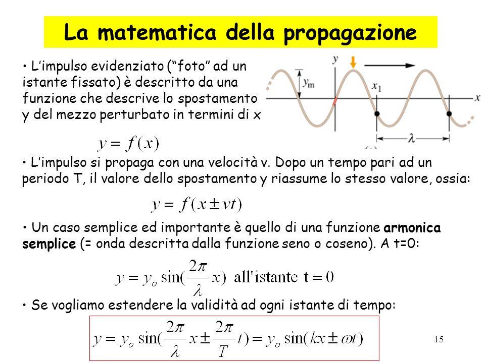 La matematica della propagazione