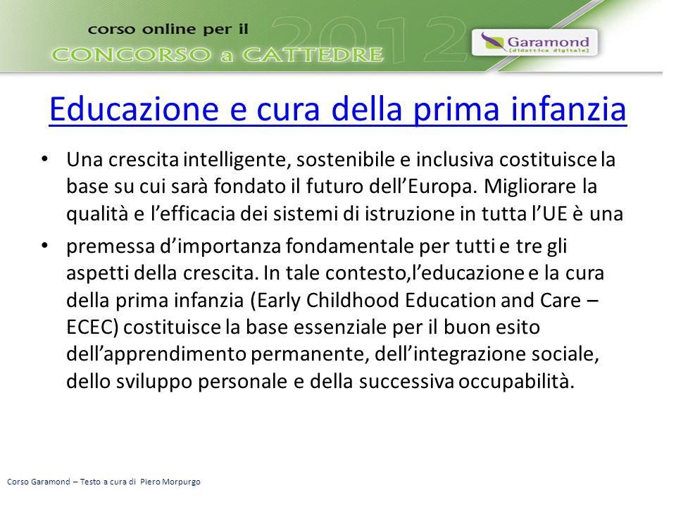 Educazione e cura della prima infanzia