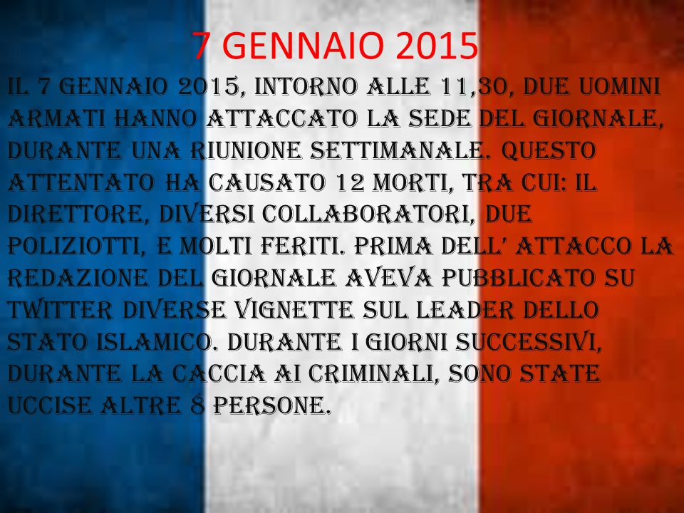 7 GENNAIO 2015