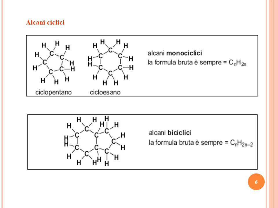 Alcani ciclici