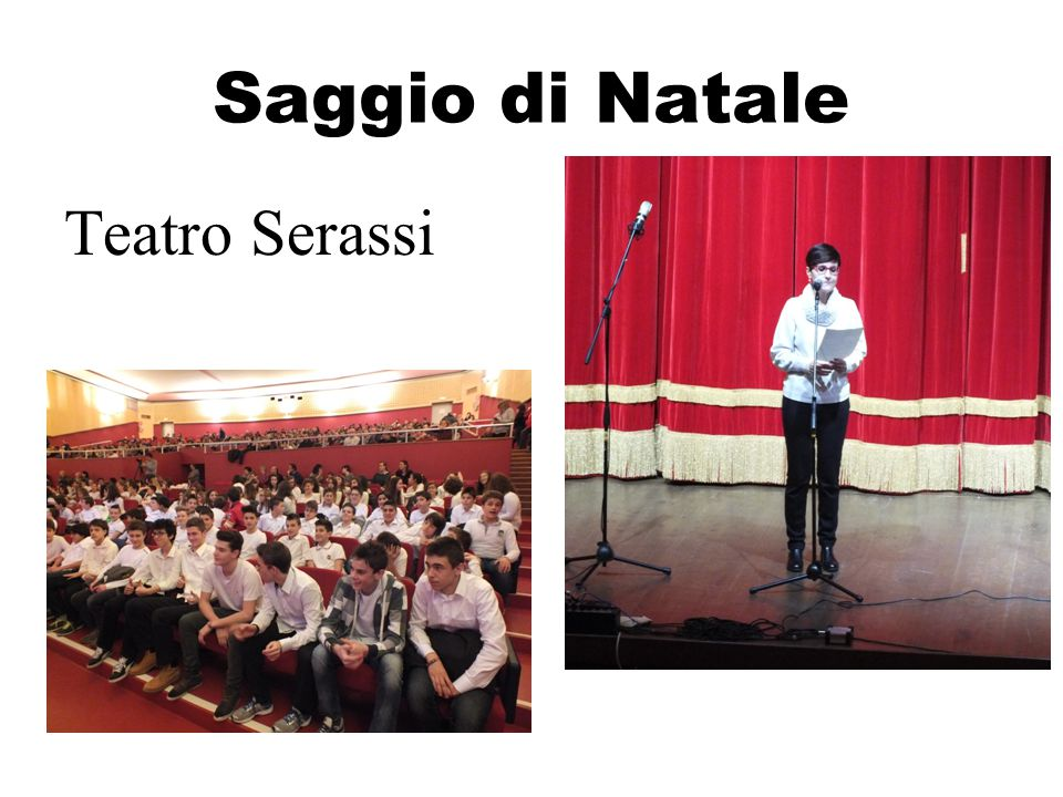 Saggio di Natale Teatro Serassi