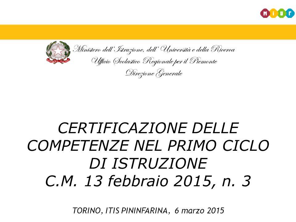 TORINO, ITIS PININFARINA, 6 marzo 2015