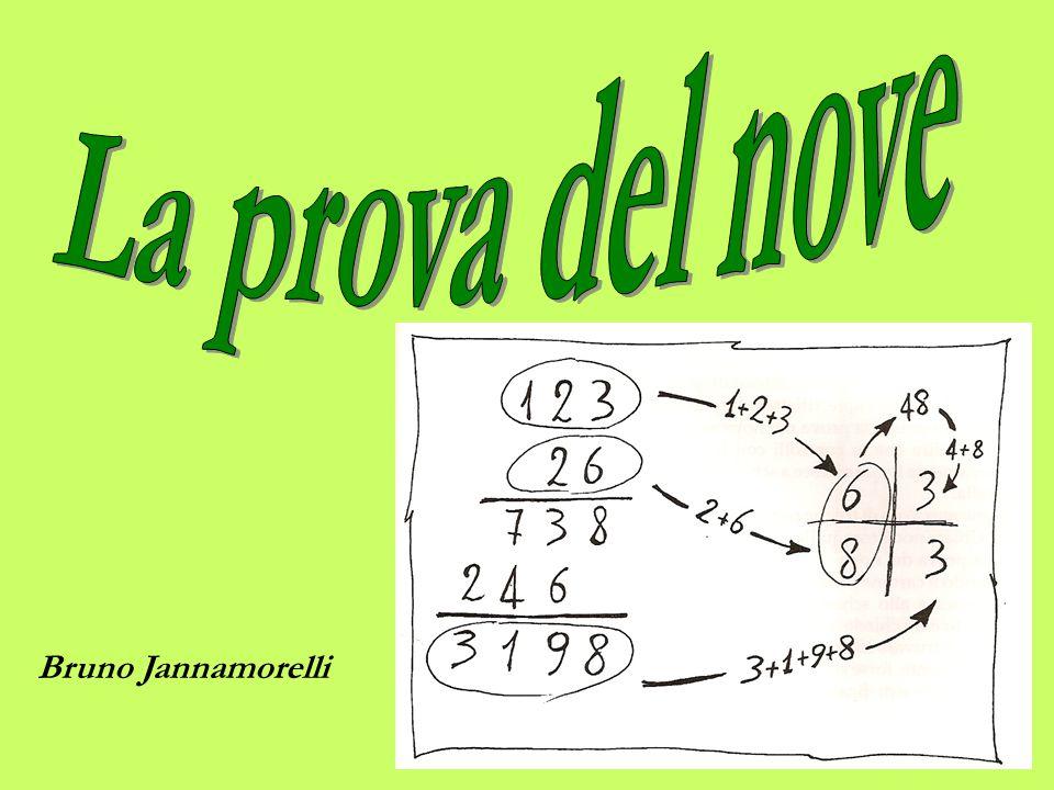 La prova del nove Bruno Jannamorelli