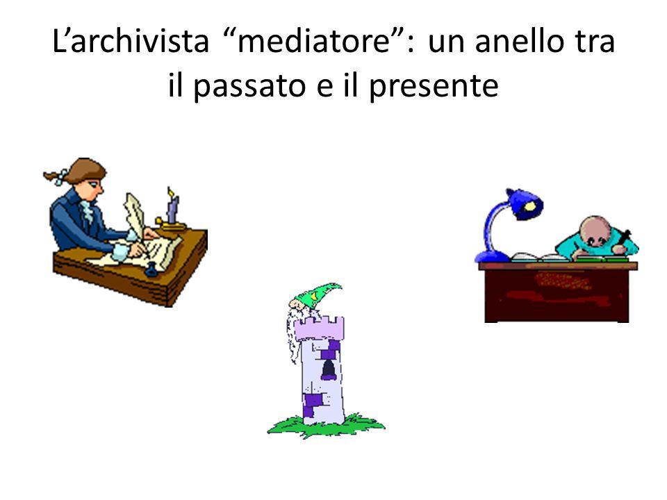 L'archivista mediatore : un anello tra il passato e il presente