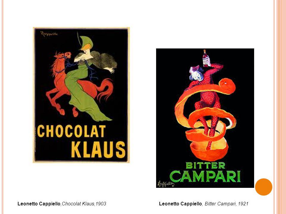 Leonetto Cappiello,Chocolat Klaus,1903