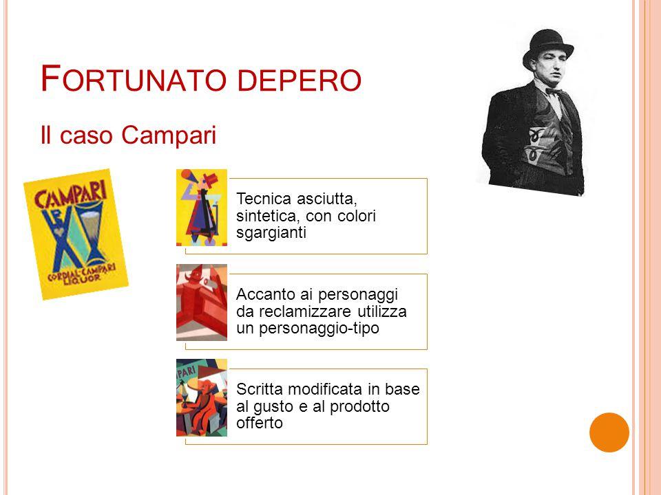 Fortunato depero Il caso Campari