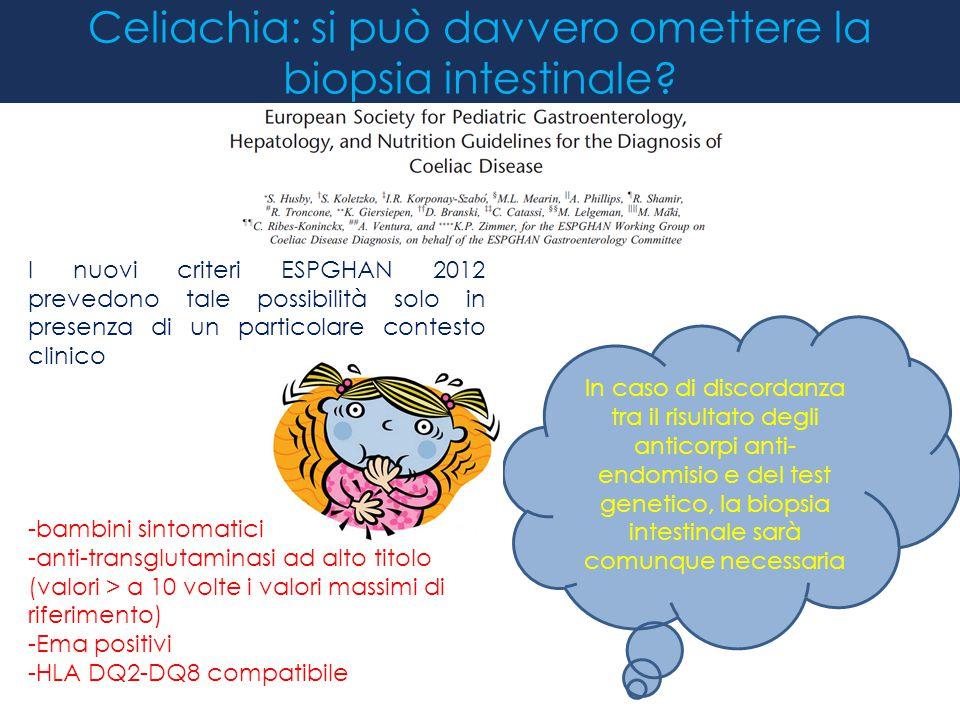 Celiachia: si può davvero omettere la biopsia intestinale