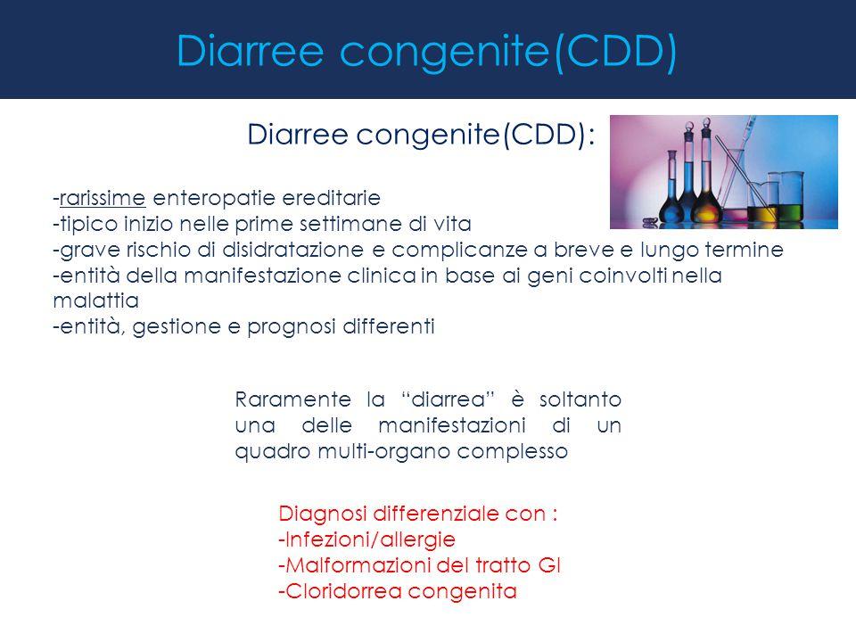 Diarree congenite(CDD)