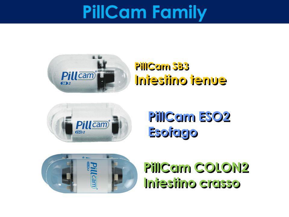 PillCam Family PillCam ESO2 Esofago PillCam COLON2 Intestino crasso