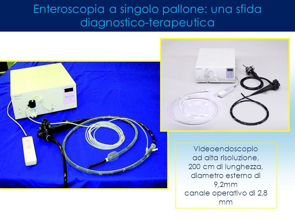 Enteroscopia a singolo pallone: una sfida diagnostico-terapeutica