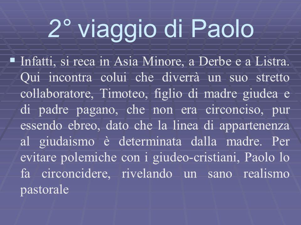 2° viaggio di Paolo