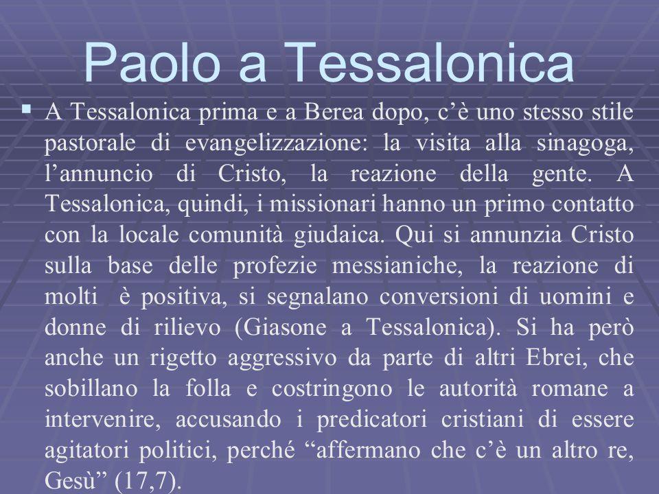 Paolo a Tessalonica