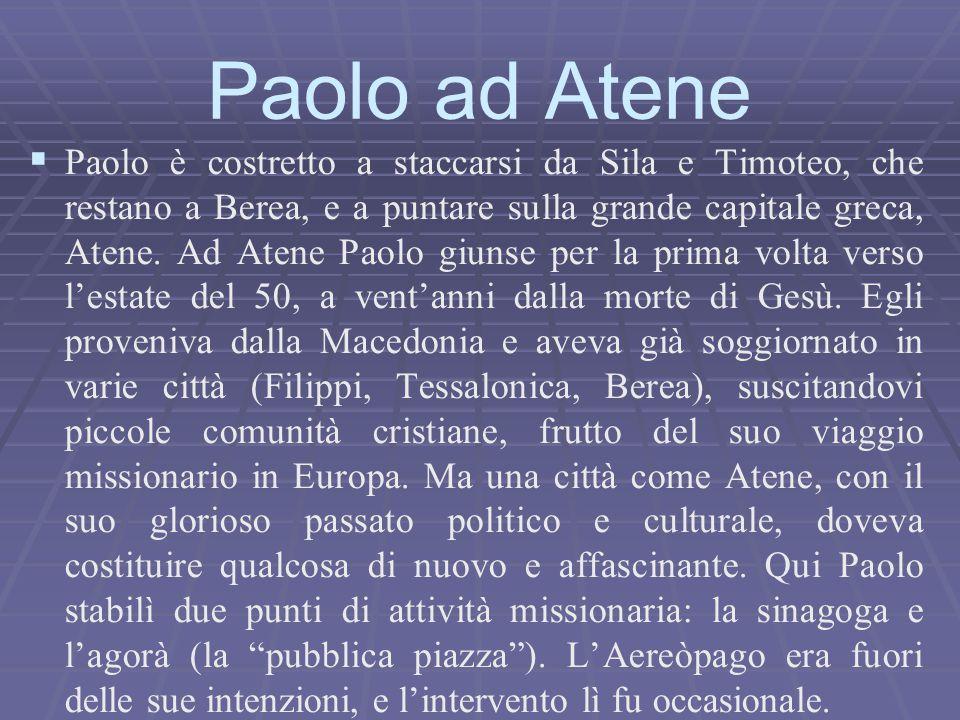 Paolo ad Atene