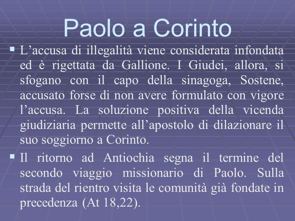 Paolo a Corinto