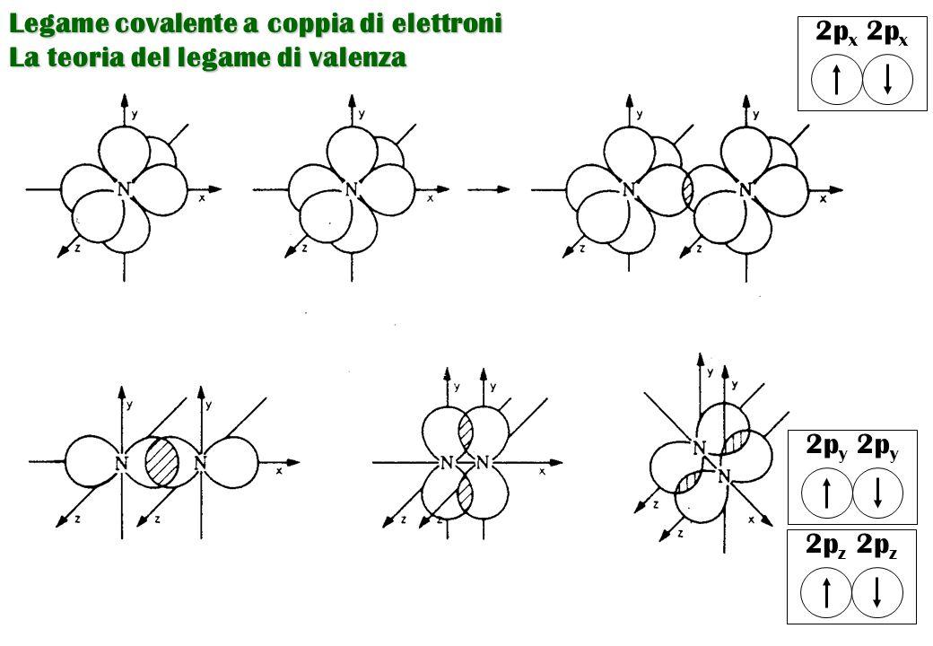 Legame covalente a coppia di elettroni