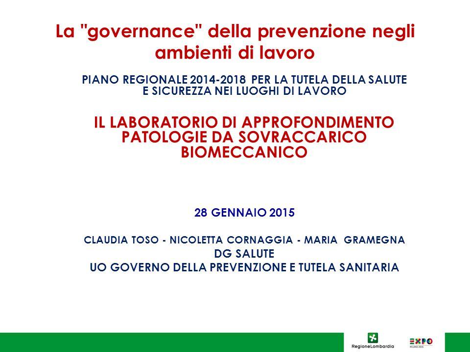 La governance della prevenzione negli ambienti di lavoro