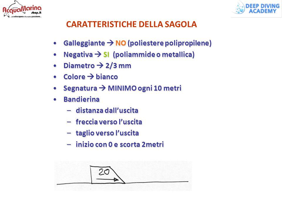 CARATTERISTICHE DELLA SAGOLA