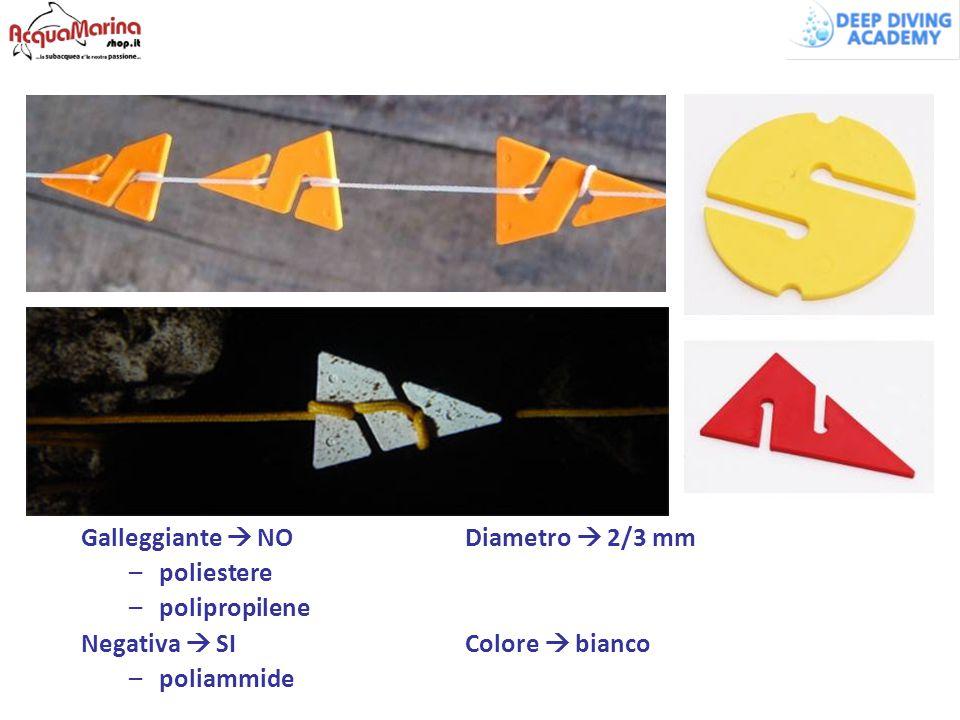 Galleggiante  NO Diametro  2/3 mm