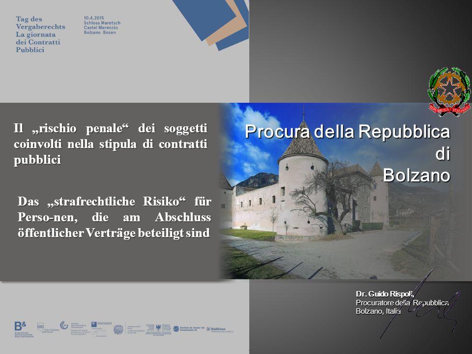 Procura della Repubblica di Bolzano