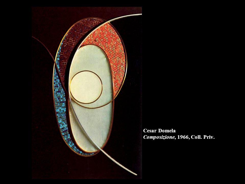 Cesar Domela Composizione, 1966, Coll. Priv.